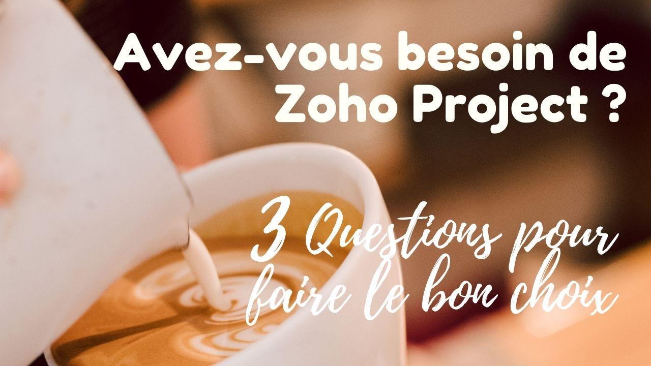 Podcast Zoho Project Gestion de projets